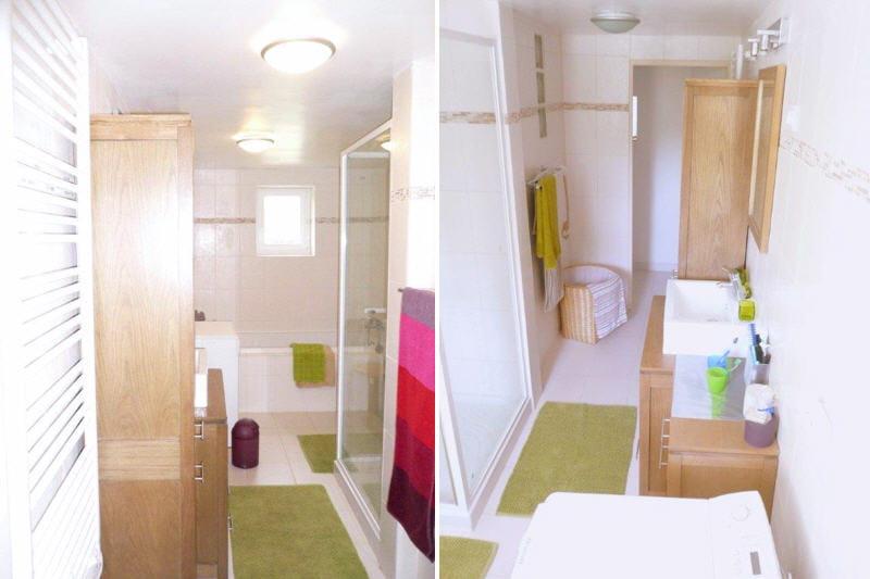 La nouvelle salle de bains avant apr s une salle de for Nouvelle salle de bain