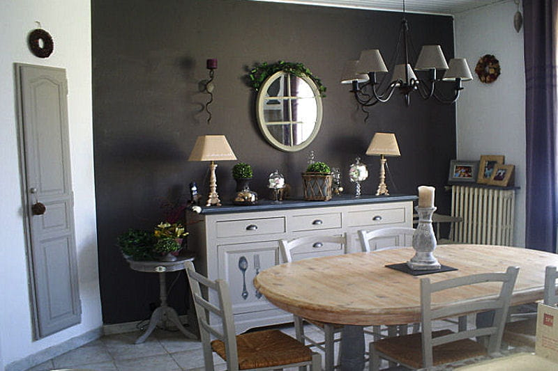 Awesome Salle A Manger Gris Et Prune Ideas - Antoniogarcia.Info