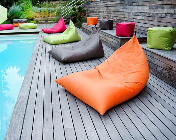 poufs easy for life de jardin priv. Black Bedroom Furniture Sets. Home Design Ideas