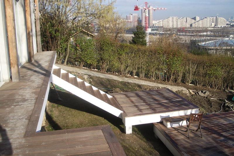 Les futures terrasses d 39 t - Terrasse jardin ville tours ...