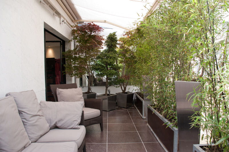 balcon fa on jardin japonais balcon 35 id es d co pour l 39 am nager journal des femmes. Black Bedroom Furniture Sets. Home Design Ideas