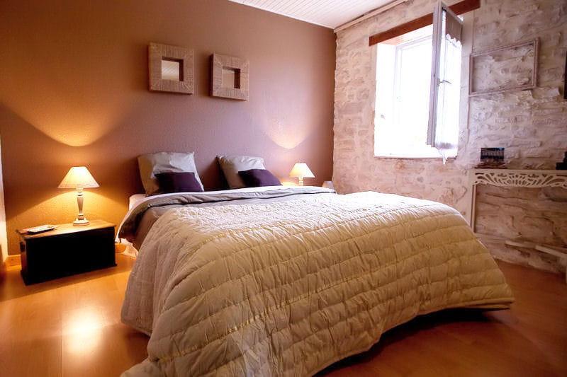 la chambre r ve de sable d co de charme au mas d 39 emma journal des femmes. Black Bedroom Furniture Sets. Home Design Ideas