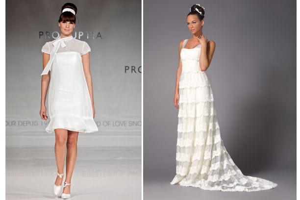 20 robes de mariées tendances pour 2013 - Journal des Femmes