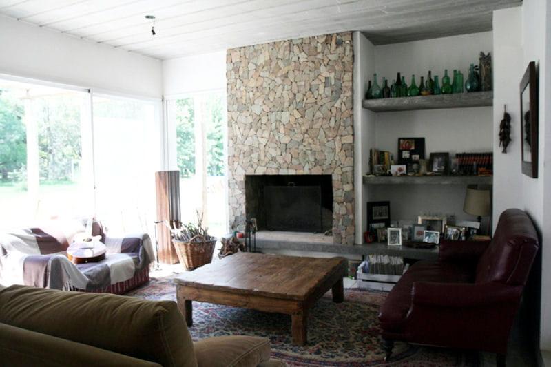 Pierres et couleurs chaudes toujours plus d 39 id es pour d corer mon salon journal des femmes for Decorer mon salon