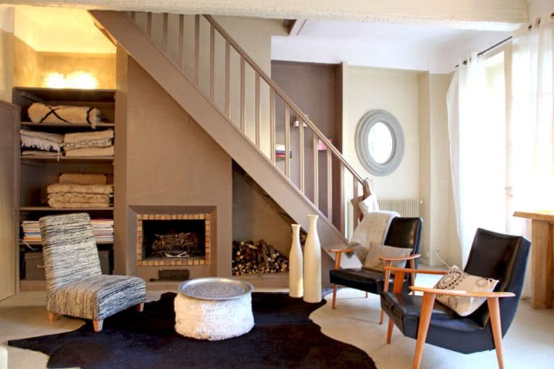 bois et tissus toujours plus d 39 id es pour d corer mon salon journal des femmes. Black Bedroom Furniture Sets. Home Design Ideas