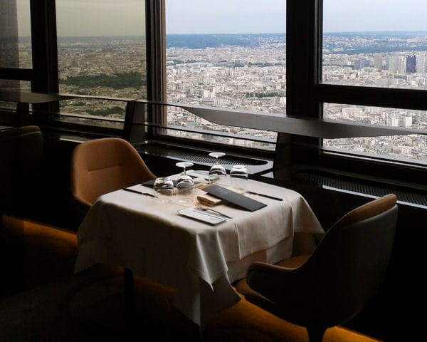 Une lumi re dor e cosmique le ciel de paris d cor par no duchaufour lawra - Le ciel de paris restaurant ...