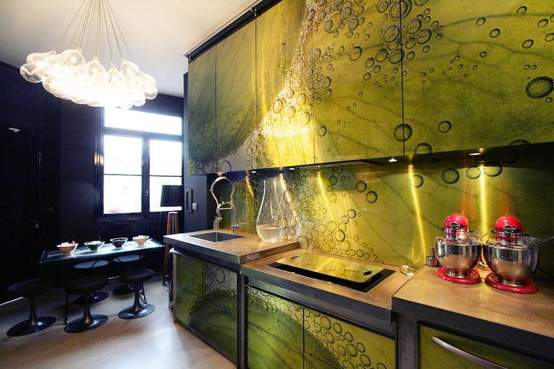 une cuisine o le raisin est star des cuisines comme on. Black Bedroom Furniture Sets. Home Design Ideas