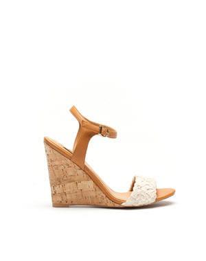 sandales compensées de stradivarius