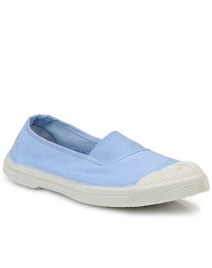 chaussures en tissu de bensimon