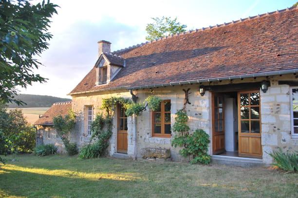M lange de la pierre et du bois maison en pierre des b tisses de charme - Maison de charme perche ...