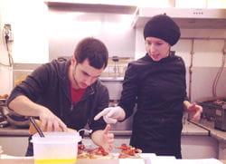 kristin dirige son restaurant itinérant d'une main de maître