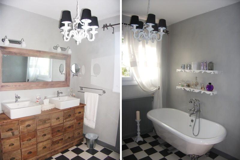 la salle de bains de dominique apr s avant apr s des salles de bains relook es journal. Black Bedroom Furniture Sets. Home Design Ideas