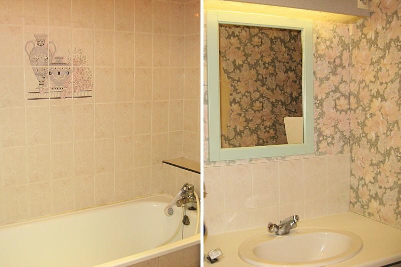 la salle de bains de sandrine avant avant apr s des salles de bains relook es journal. Black Bedroom Furniture Sets. Home Design Ideas