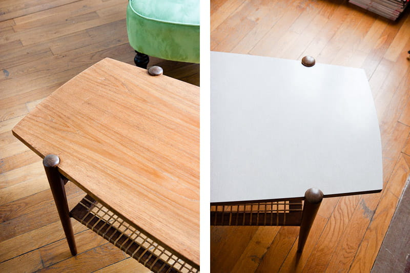 Appartement Caroline Berdah : table basse