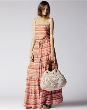 robe à pois et rayures de gerard darel