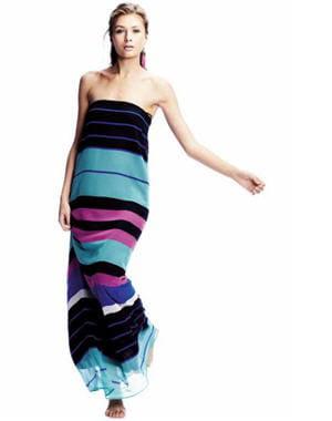 robe rayée de kookaï