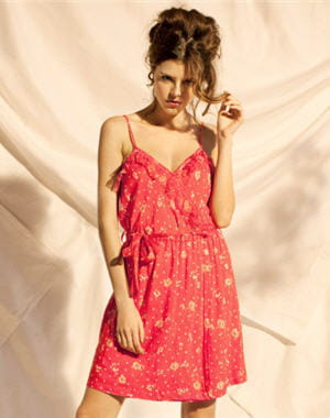 robe 'rita' de one step