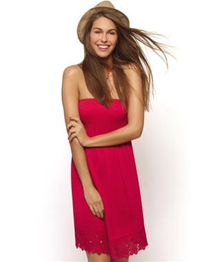 robe 'erin' de rougegorge