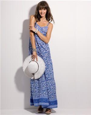 Robe longue romantique de u petites robes de plage pour for Petites robes maxi pour mariage sur la plage