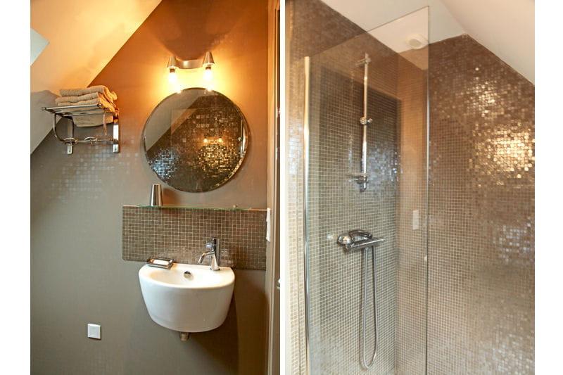 Clats d 39 or douche l 39 italienne une pluie de bonnes id es jour - Taille douche a l italienne ...