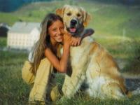 miss france, enfant, et son chien paypper.
