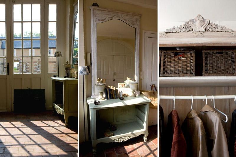 D coration entr e romantique for Deco hall entree appartement