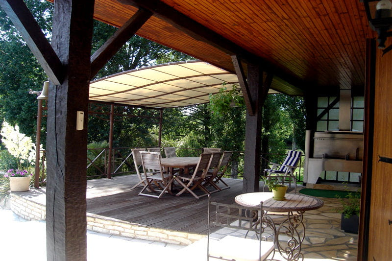 Pergola en acier
