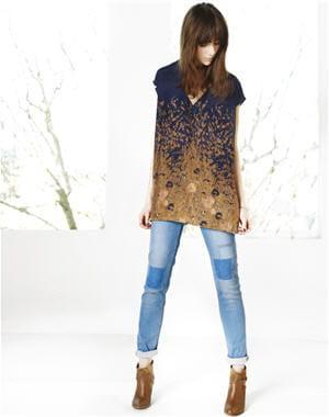 jean patchwork de comptoir des cotonniers