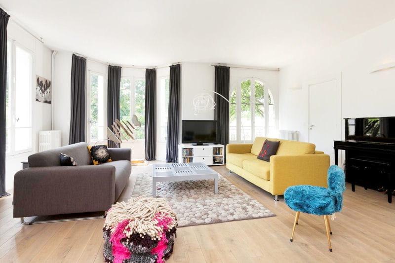 Un joli mariage de meubles d co fantaisie color e dans une maison lumineuse - Journal des femmes deco ...