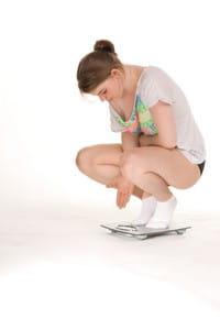 une importante perte de poids peut être enregistrée lors d'une hyperthyroïdie.