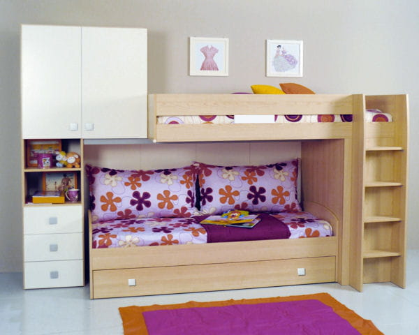 lit chiara de la maison de val rie chambre d 39 enfant. Black Bedroom Furniture Sets. Home Design Ideas