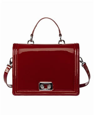 sac 'torroncino shine' rouge de tosca blu