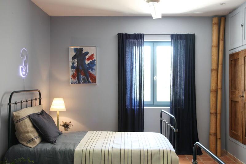 Chambre Grise Et Bleu Ciel Avec Des Id Es