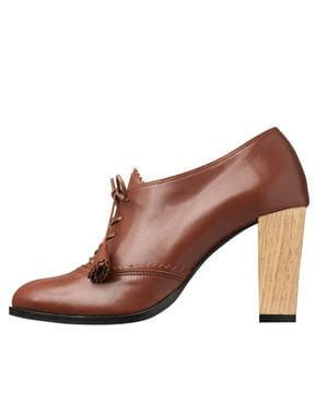 derbies en cuir de karine arabian pour andr les chaussures automne hiver 2012 2013 se mettent. Black Bedroom Furniture Sets. Home Design Ideas