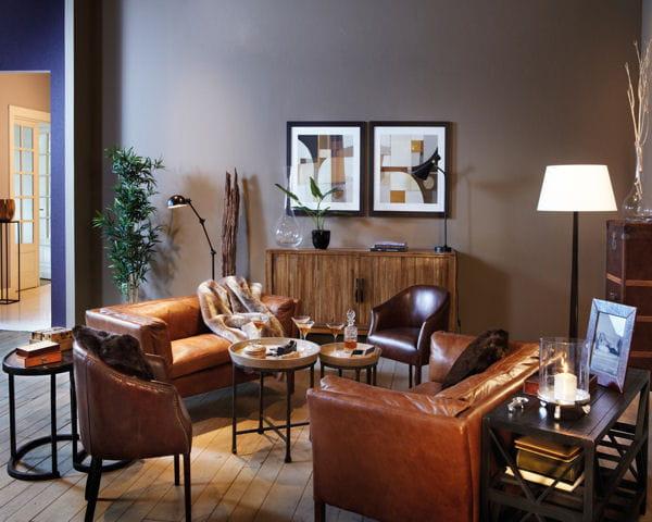 ambiance anglaise d co salon quoi de neuf journal des femmes. Black Bedroom Furniture Sets. Home Design Ideas