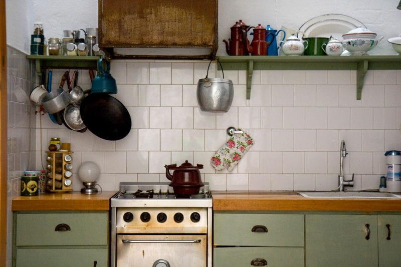 Une cuisine comme au bon vieux temps d co romantique for Deco cuisine romantique