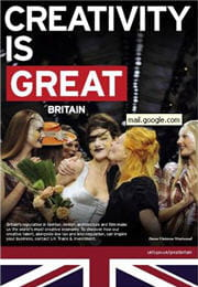 l'affiche de great britain avec vivienne westwood