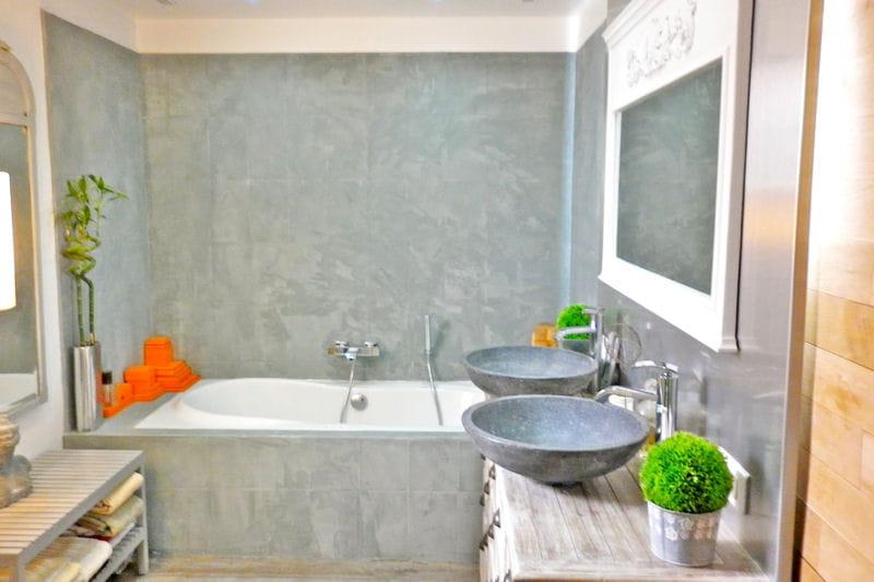 Mini buissons et bo tes flashy accessoiriser sa salle de for Mini salle de bain