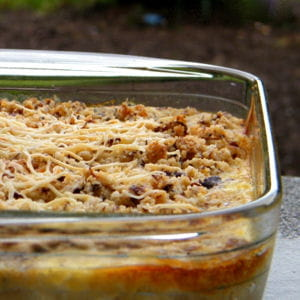 gratin de butternut et patate douce