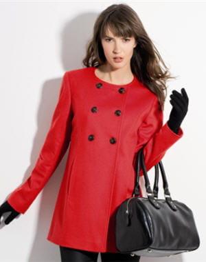 manteau court de u vestes et manteaux de mi saison pour l 39 automne 2012 journal des femmes mode. Black Bedroom Furniture Sets. Home Design Ideas