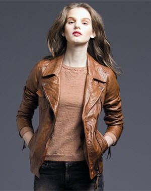 perfecto 'biker jacket' de 7 for all mankind