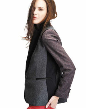blazer 'patchwork' de kooka