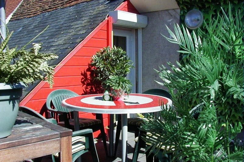 la terrasse sur le toit visitez la maison de carine. Black Bedroom Furniture Sets. Home Design Ideas
