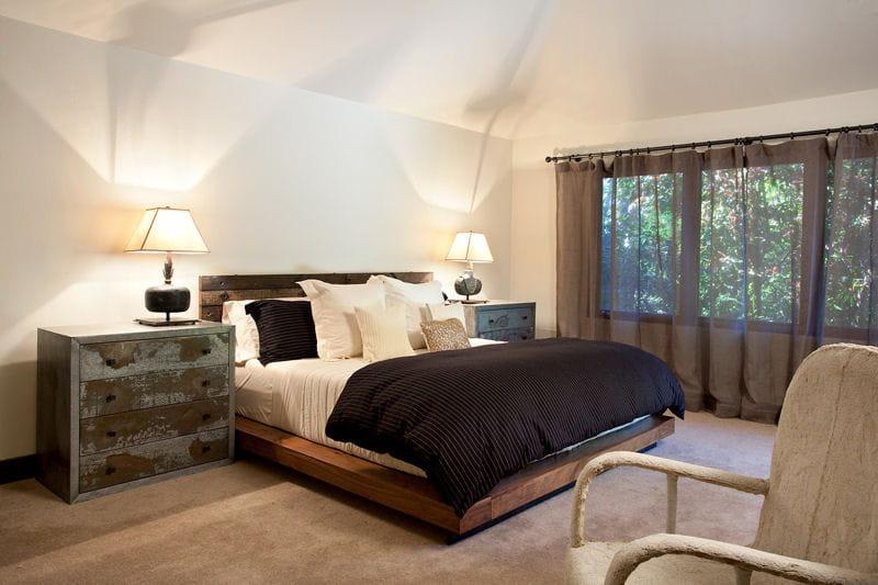 Inspiration nature dans la chambre une maison ouverte sur la nature san francisco journal - Chambre deco nature ...