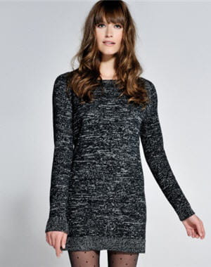 robe en laine de cama eu les petites robes r chauffent notre hiver journal des femmes. Black Bedroom Furniture Sets. Home Design Ideas