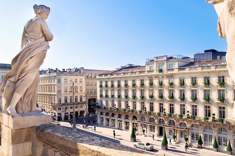 Le grand h tel de bordeaux spa joyau authentique for Hotel original bordeaux