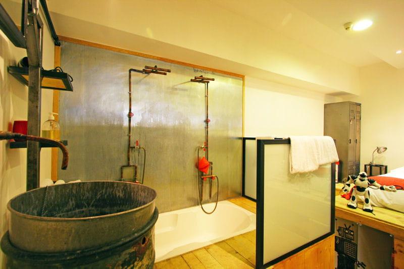 ludique et r cup 39 salle de bains 80 id es top piquer aux d corateurs journal des femmes. Black Bedroom Furniture Sets. Home Design Ideas