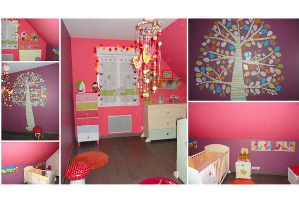 la chambre girly r sultat concours la plus belle chambre d 39 enfant journal des femmes. Black Bedroom Furniture Sets. Home Design Ideas