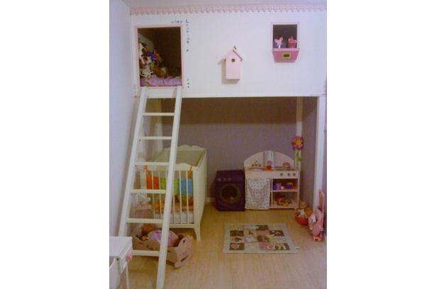 la chambre cabane r sultat concours la plus belle chambre d 39 enfant journal des femmes. Black Bedroom Furniture Sets. Home Design Ideas