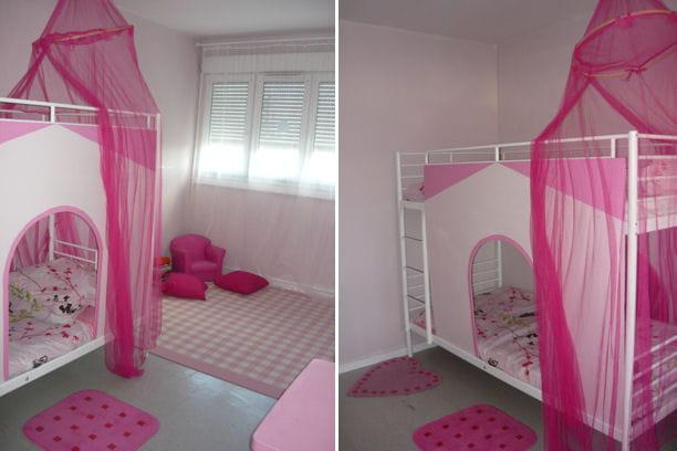 Rose power r sultat concours la plus belle chambre d for La plus belle chambre